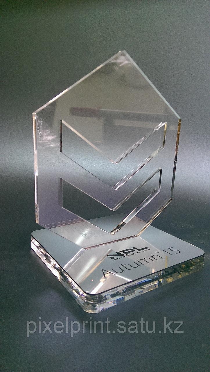 Наградной кубок из акрила