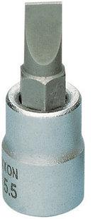 "23739 Proxxon Отверточная бита плоская на 1/4"", 33 мм, FD 5,5 мм"