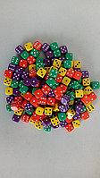 Кубик шестигранный Simple 10mm цветной в ассортименте