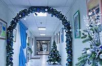 Новогоднее оформление офисных помещений в Алматы