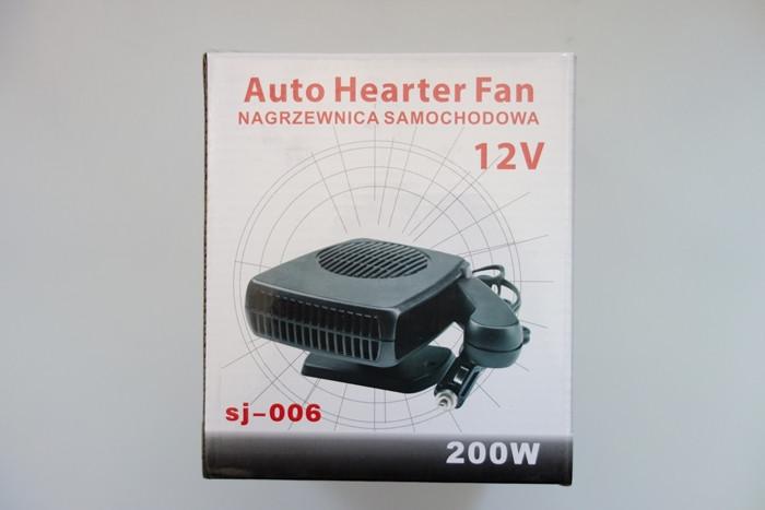 Автомобильный вентилятор с функцией обогрева