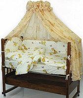 Комплект белья для детской кроватки 7 предметов