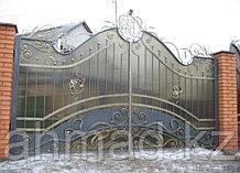 Кованные ворота в Алматы