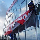 Монтаж Баннеров в Алматы. Баннеры, фото 9