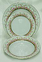 Набор тарелок 6 персон 18 предм Nicol (Thun, Чехия)