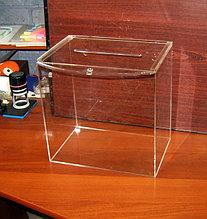Ящики для пожертвований и урны для голосований