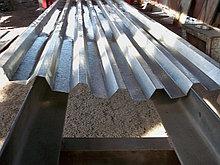 Профнастил/ лист оцинкованный толщина 0,5 мм