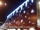 Монтаж Новогодних украшений, новогоднее украшения фасада в Алматы., фото 8