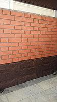 Фасадные панели гранит и клинкер красный