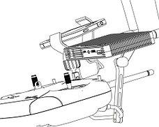 Крепление DJI Lightbridge на пульт квадрокоптера, фото 2