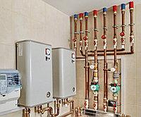 Установка котлов на газообразном топливе
