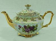 Чайник заварочный Роза Перламутровая (Carlsbad, Чехия)