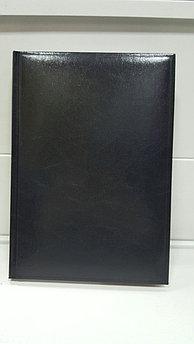 Ежедневник А5 недатированный (черный)