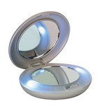 Компактное зеркало c LED подсветкой, фото 3