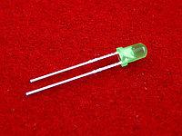 Светодиод 3 мм с цветной линзой