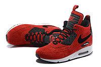 Зимние кроссовки Nike Air Max 90 Sneakerboot Ice Red (40-46), фото 3