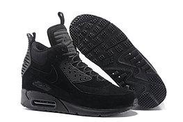 Зимние кроссовки Nikе Air Max 90 Sneakerboot Ice Black (40-46)