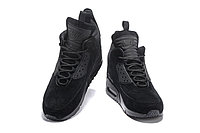 Зимние кроссовки Nike Air Max 90 Sneakerboot Ice Black (40-46), фото 4