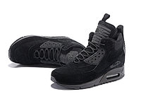 Зимние кроссовки Nike Air Max 90 Sneakerboot Ice Black (40-46), фото 3