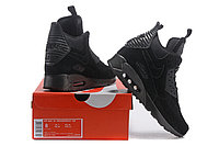 Зимние кроссовки Nike Air Max 90 Sneakerboot Ice Black (40-46), фото 5