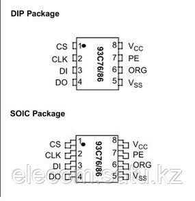 Микросхема 93C86 SMD