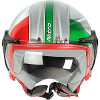 Шлем с визором открытый без подбородника, фото 1