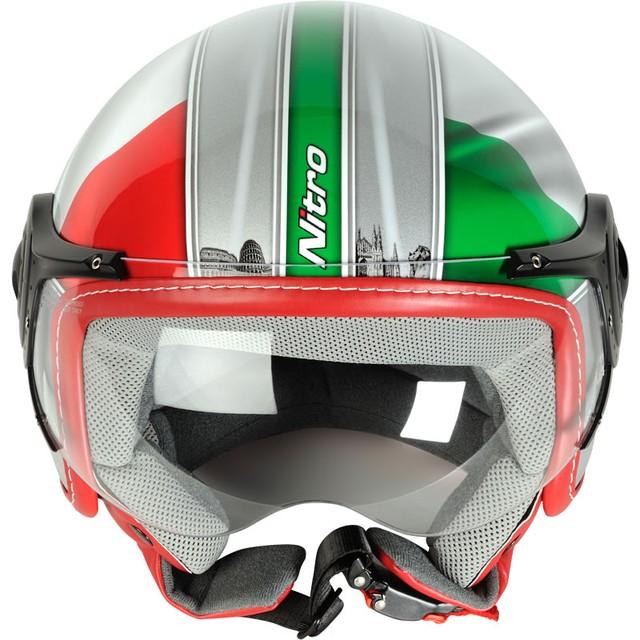 Шлем с визором открытый без подбородника - фото 1
