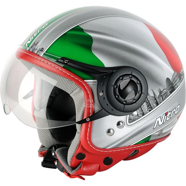 Шлем с визором открытый без подбородника - фото 2