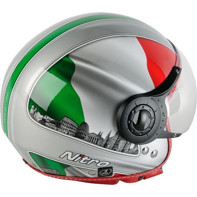 Шлем с визором открытый без подбородника - фото 3