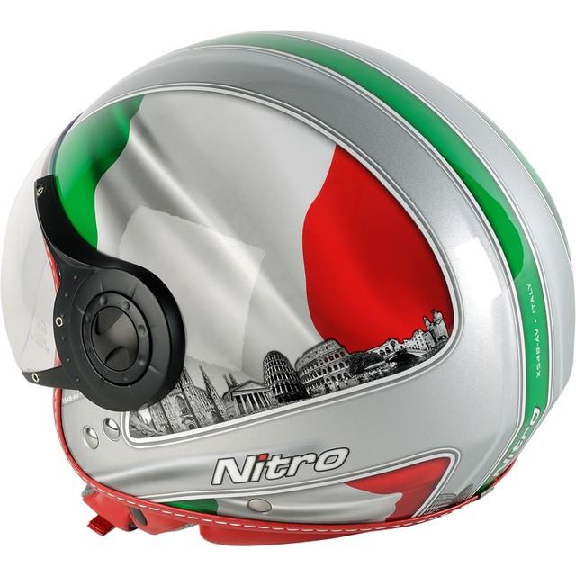 Шлем с визором открытый без подбородника - фото 4