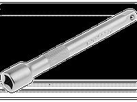 """Удлинитель ЗУБР """"МАСТЕР"""" для торцовых головок (1/2""""), Cr-V, хроматированное покрытие, 125мм"""