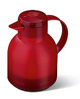 Термо-кофейник 1л Samba прозрачно-красный (Emsa, Германия)