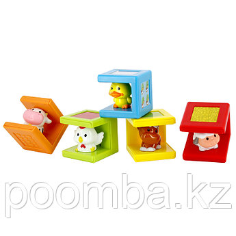 Кубики Животные Kidz Delight