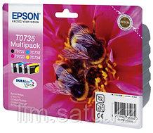 Картриджи Epson T0731, T0732, T0733, T0734 на принтер Epson