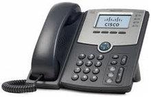 Cisco SPA504G IP-телефон 4 линии, 2 x 10/100 Eth, ч/б LCD 128x64, питание через PoE