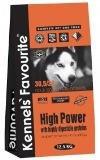Kennels` Favourite High Power  для взрослых собак; беременных и кормящих сук; высококалорийный, 20кг