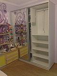 Шкаф-купе белый в детскую, фото 2