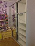 Шкаф-купе белый в детскую, фото 4