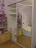 Шкаф-купе белый в детскую, фото 3