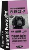 Kennels` Favourite 12,5 кг (ягненок и рис) для щенков всех пород сухой корм Puppy Junior Lamb &Rice