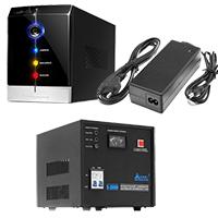 Зарядные устройства, блоки питания (БП), ИБП, стабилизаторы.