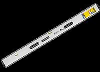 """Правило-уровень STAYER """"PROFI"""" алюминиевый, 2 глазка, 2 ручки, усилен прямоуг профиль, с ребром жесткости, 3м"""