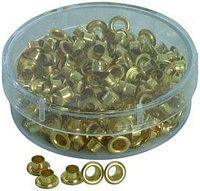 Люверсы для ручного аппарата(piccolo) 250шт, золотистые.