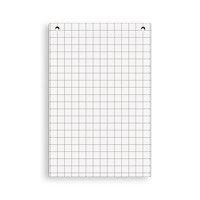 Блок бумажный для флипчарта клетка