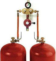 Газобалонная установка из 2 баллонов GOK (ручная), фото 1