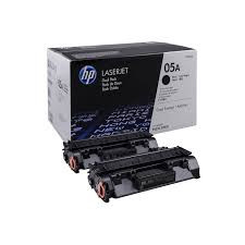 HP CE505D Картридж лазерный HP 05A Dual Pack Black Print Cartridge