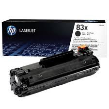 HP CF283X 83X Black Toner Cartridge
