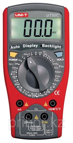 Мультиметр цифровой UT50C. Внесен в реестре СИ РК