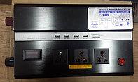Инвертор преобразователь 12 220 SMART 2000 Вт с функцией зарядки и UPS, фото 1
