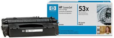 HP Q7553X Black Print Cartridge